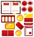 Vector business elements for design Stock Photo