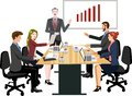 Vector - Business Meeting Illustration