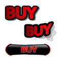 Vector buy stickers Royalty Free Stock Photo