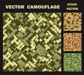 Vector camouflage Royalty Free Stock Images