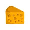 Vector cartoon cheese