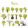 Trees for game backgrounds