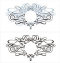 Vector Cartouche Stock Photography