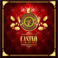 Vector casino gambling game luxury background Royalty Free Stock Photo