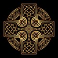 Vector celtic cross