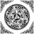 Vector celtic design element Royalty Free Stock Images