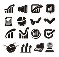 Vector charts icons set author s illustration in Stock Photos