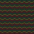 Vector chevron seamless pattern geometric background for wallpaper, gift paper, fabric print, furniture. Zigzag print. Black with