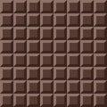 Vector chocolate seamless texture.
