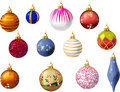 Vector christmas background Stock Photos