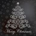 Vector Christmas card Stock Image