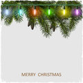 Vector Christmas card Stock Photos