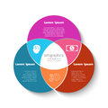 Vector circle infographic template. Business concept