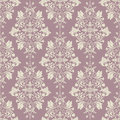 Vector classic wallpaper, damask background Royalty Free Stock Photo