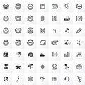 Vector Clipart Set Royalty Free Stock Photography