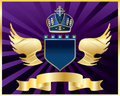 Vector coat of arms Royalty Free Stock Photo
