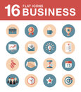 Vector collection of colorful flat business and