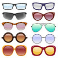 Vector collection of Eyeglasses and Sunglasses.