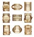 Di lusso d'oro