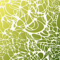 Vector color hand-drawing wave sea background. Green abstract sea texture. Royalty Free Stock Photo