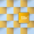 Vector color squares abstract background for design Royalty Free Stock Photo