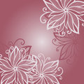 Vector Colored Floral Layout. Stock Photo