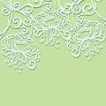 Vector colored floral layout greeting card patterned design Royalty Free Stock Photography