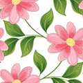 Vector Colored Seamless Floral Pattern