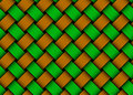 Vector colored woven fiber seamless pattern