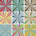 Vector colorful backgrounds  Royalty Free Stock Images