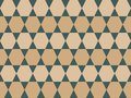 Vector neutral colored geometric shapes seamless pattern background
