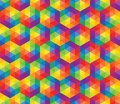 Vector colorful pattern of geometric shapes this is file eps format Royalty Free Stock Image