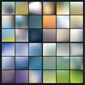 Vector colorfully blurred backgrounds. Royalty Free Stock Photo