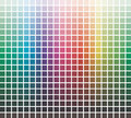 Vector colors library Royalty Free Stock Images