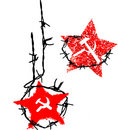 Vector Communist symbol Royalty Free Stock Image