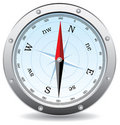 Vector compass Royalty Free Stock Images