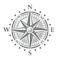 Vector Compass Rose Royalty Free Stock Photo