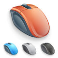 Vector computer mouse Royalty Free Stock Photo