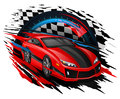 Vector Concept Of Racing Car S...