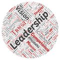 Vector business leadership strategy, management value