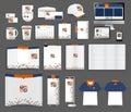Vector corporate identity templates Royalty Free Stock Photo