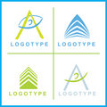 Vector corporate Logos Royalty Free Stock Photography