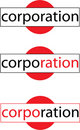 Vector Corporation Logo Stock Images