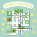 Vector crossword puzzle