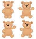 Vector of cute bears.