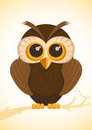 Vector cute owl Stock Photo