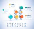 Vector 3D illustration Infographic. Eps 10