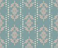 Vector damask pattern ornament. Elegant luxury texture for textile, fabrics or wallpapers backgrounds