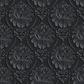 Vector damask seamless pattern background. Elegant Royalty Free Stock Photo