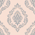 Vector damask seamless pattern element. Classical luxury old fashioned damask ornament, royal victorian seamless texture